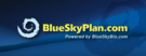 blue sky plan logo